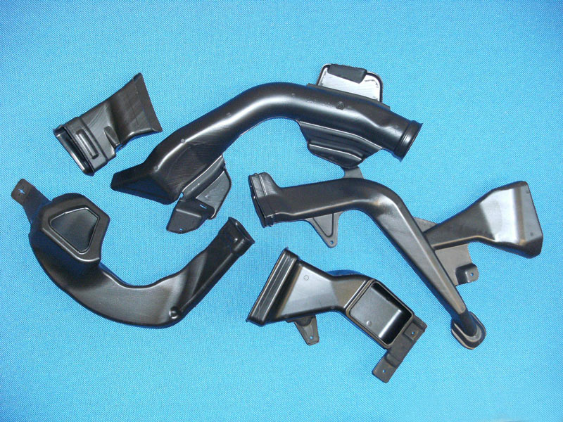 Car Air Ducts : Blow moulded heating ventilation air conditioning